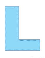 Modèles-Lettre L