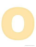 Modèles-Lettre O