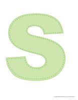 Modèles-Lettre S