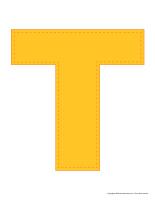 Modèles-Lettre T