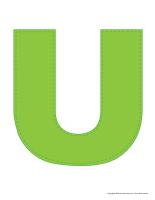 Modèles-Lettre U