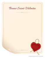 Modèles-Saint-Valentin-Lettres d'amour