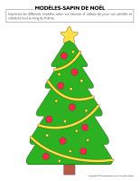 Modèles-Sapin de Noël