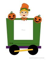 Modèles-Tableau d'accueil Halloween-2