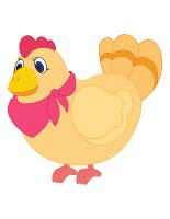 Modèles poules et poussins 2014