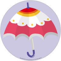 Mon chemin de parapluie