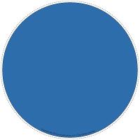 Mon chemin tout bleu