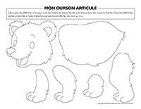 Mon ourson articulé