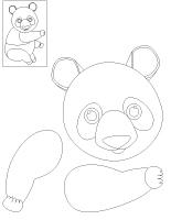 Mon panda articulé