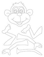 Mon singe amusant