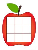 Mon tictactoe-Les pommes