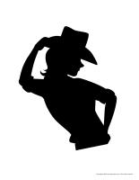 Morceaux de cowboy géant