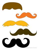 Moustaches personnages