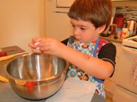 Muffins fraises chocolat et amandes-3