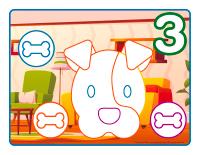 Napperons de jeux à modeler-Animaux domestiques-2