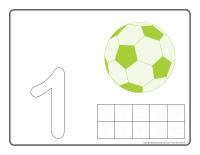 Napperons de jeux à modeler-Ballons de soccer