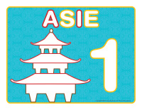 Napperons de jeux à modeler-Découvrons l'Asie