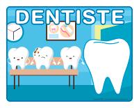 Napperons de jeux à modeler-Dentiste