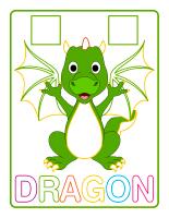 Napperons de jeux à modeler-Dragons