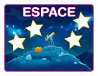 Napperons de jeux à modeler-Espace