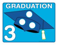 Napperons de jeux à modeler-Graduation
