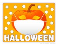 Napperons de jeux à modeler-Halloween 2020-2