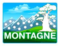 Napperons de jeux à modeler-Montagnes
