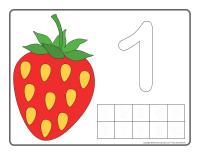 Napperons de jeux à modeler-Petits fruits