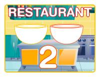 Napperons de jeux à modeler-Restaurant