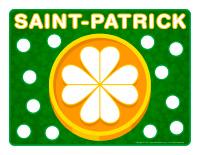 Napperons de jeux à modeler-Saint-Patrick