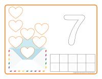 Napperons de jeux à modeler-Saint-Valentin-Lettres d'amour