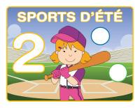 Napperons de jeux à modeler-Sports d'été-2