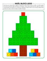 Noël blocs-Lego