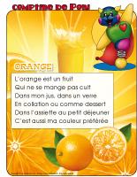 Orange-Comptine de Poni