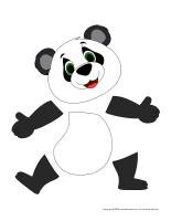 Panda miniature