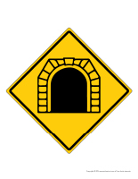 Panneaux tunnel