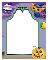 Papier à lettres - Halloween-Poni