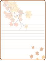 Papier à lettres - Le temps des sucres