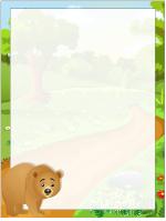 Papier à lettres - Les ours
