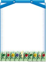 Papier à lettres - Piqueniques