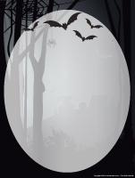 Papier à lettres-Halloween-Dans le noir
