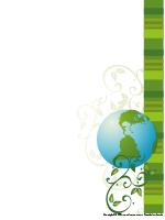 Papier à lettres-Jour de la Terre
