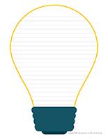 Papier à lettres-La lumière