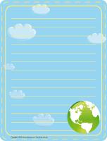 Papier à lettres-Le recyclage