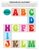 Parcours de l'alphabet
