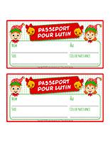 Passeports de lutins 2020
