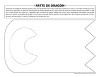 Patte de dragon