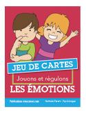 Jeu de cartes Jouons et régulons les émotions