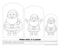 Pères Noël à classer