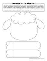Peti mouton-Pâques